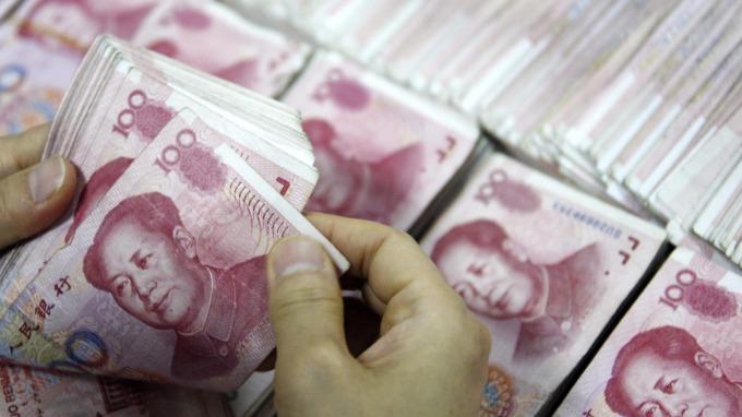 人民幣。(圖:AFP)