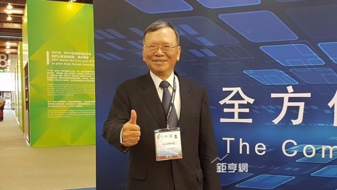 中華電前11月EPS財測達成率98.7%。圖為董事長鄭優。(鉅亨網資料照)