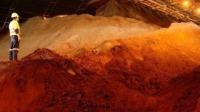 銅、鋅等價格皆較10月高點回落約8%,圖為銅礦。(圖:AFP)