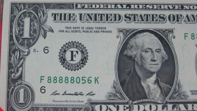 圖:AFP  美國通貨膨脹數據轉強 美元上漲
