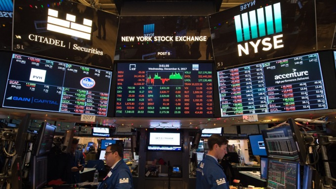 圖:AFP  美國股市週二收高
