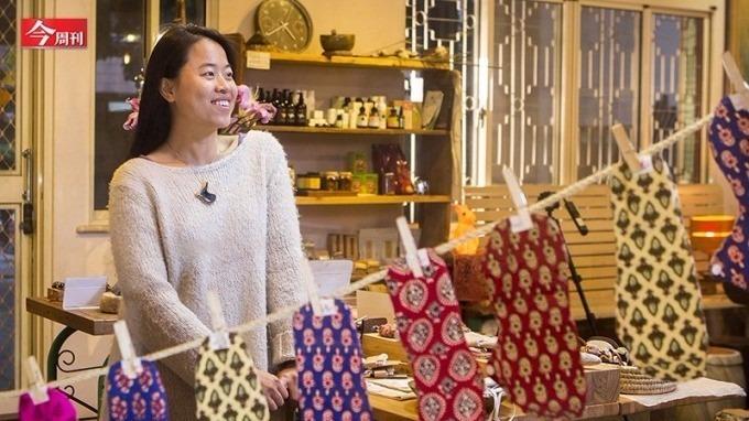 「棉樂悅事」創辦人林念慈推廣正向月事運動、提供就業機會。(今周刊)
