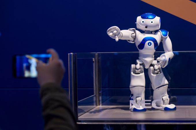 機器人產業仍是2018年投資熱點。(圖:AFP)