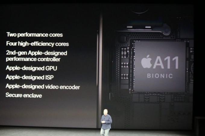 蘋果明年推出的新手機採用的A12晶片將是台積電7奈米製程生產      (圖取自蘋果)