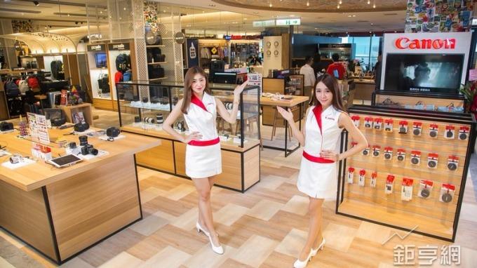 台灣Canon首家形象概念店 進駐新光三越 A8館