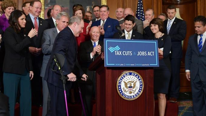 圖:AFP  美國稅改法案疑慮仍在