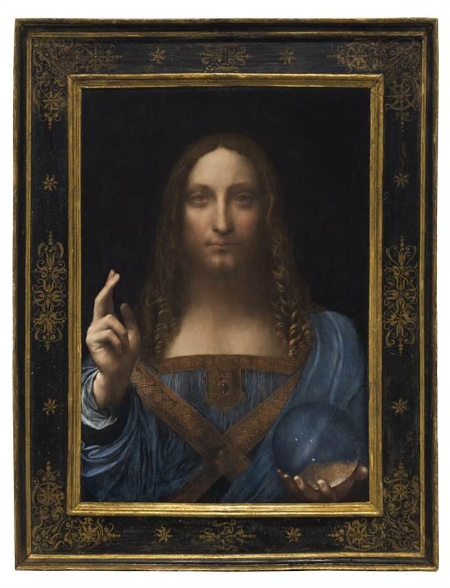 今年11月一幅疑似達文西「救世主」的畫作以4.5億美元成交。