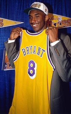 Kobe於1996年時 (圖:NBA)