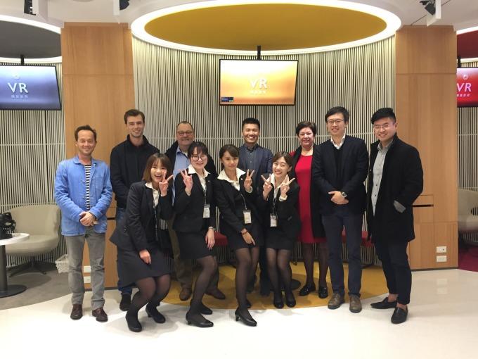 永慶【i+智慧創新體驗館】創新技術領先歐陸2年,吸引外商取經