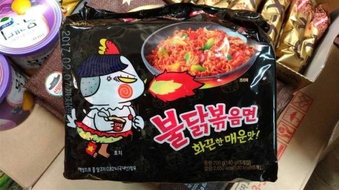 不吃自家康師傅 中國人愛吃南韓泡麵