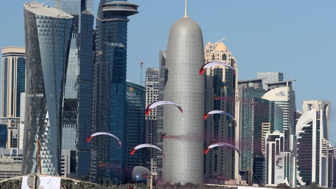 現代化城市常以摩天大樓的高姿態來展現自我。(圖:AFP)
