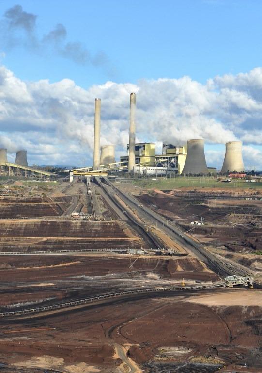 Loy Yang煤電廠 (圖:AFP)