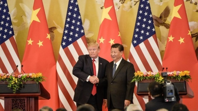 美國總統川普與中國主席習近平 (圖:AFP)