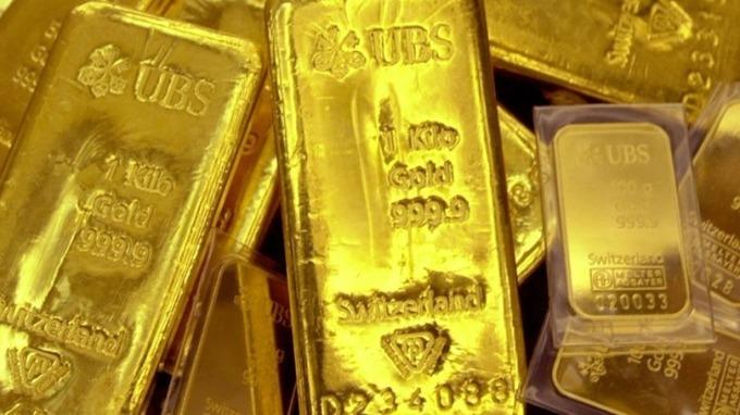 SPDR Gold Shares ETF(GLD)連續上漲11天,刷新紀錄。 (圖:AFP)