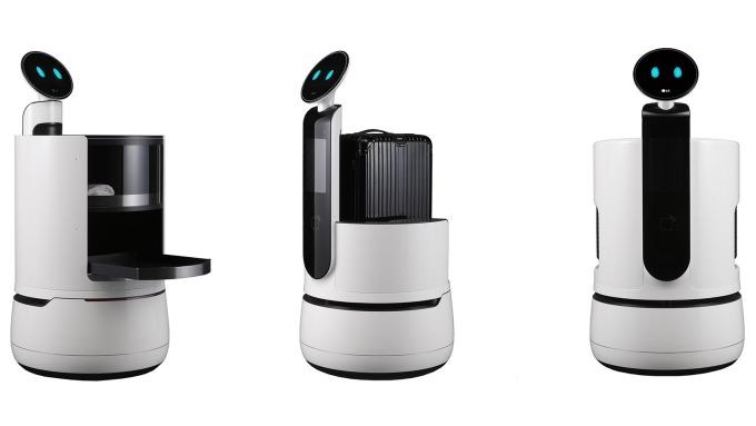服務業要被搶飯碗了 LG將發表3款飯店、機場、賣場商用機器人