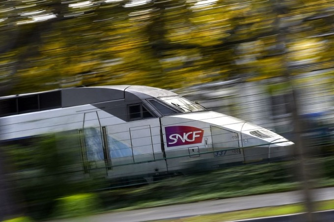 法國快速列車 / 圖:彭博