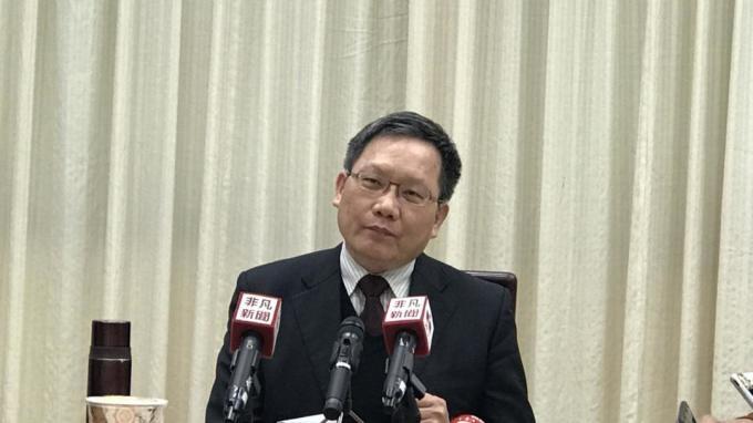 財政部次長蘇建榮。(圖:NOWnews)