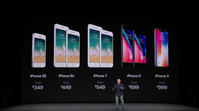 市調:iPhone 8、8 Plus、X包辦全美銷量最佳手機前三名 中日英偏好X