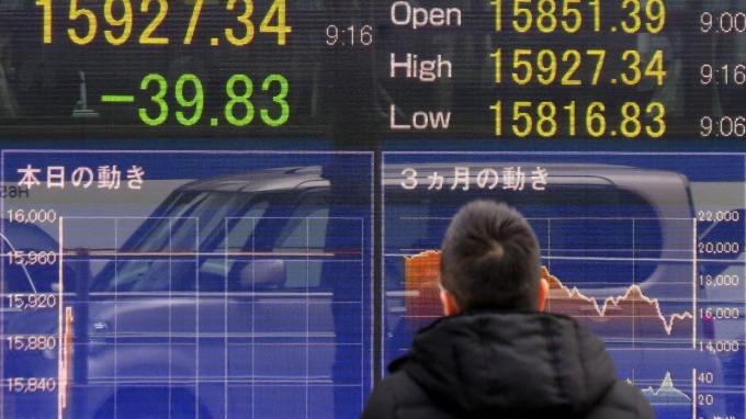 日股去年大漲,通膨也將結束。(AFP)