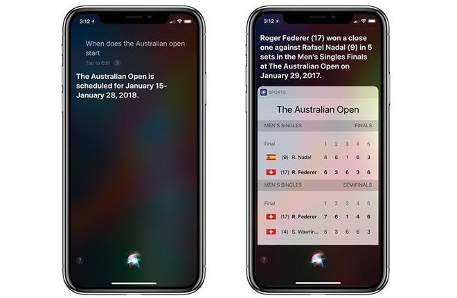 更新後的Siri運動數據 (圖:AFP)