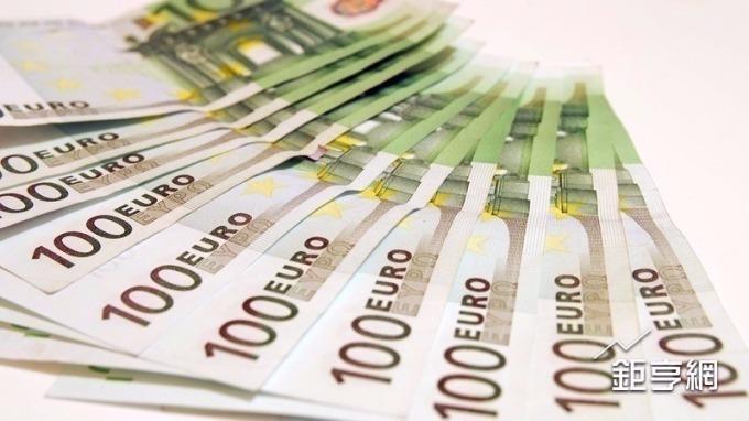 歐元上漲。(圖:鉅亨網資料照)