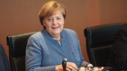 德國總理梅克爾。(圖:AFP)
