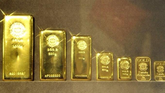 今價今年難以超越每盎司1350美元。 (圖:AFP )