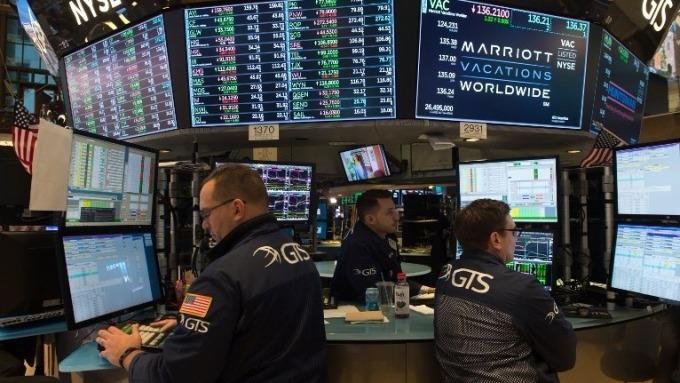紐約證交所道瓊指數交易員 (圖:AFP)