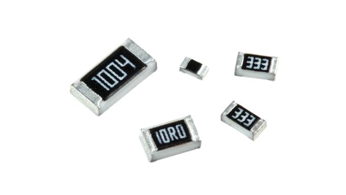 一般厚膜晶片電阻 (RC系列)。(圖取材自國巨官方網站)