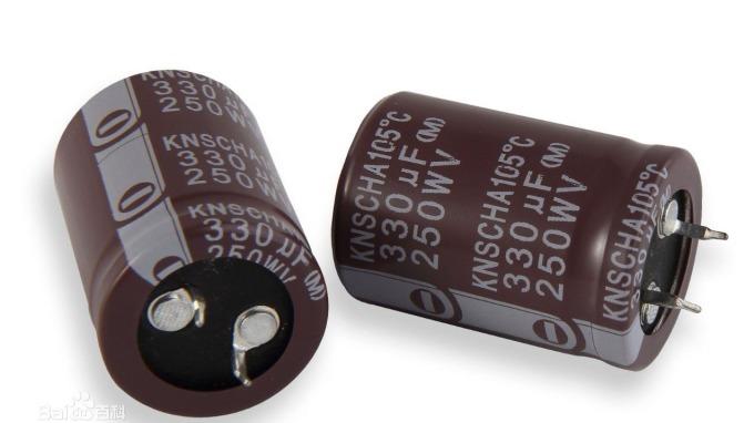 鋁電解電容。(圖片取材自百度百科)