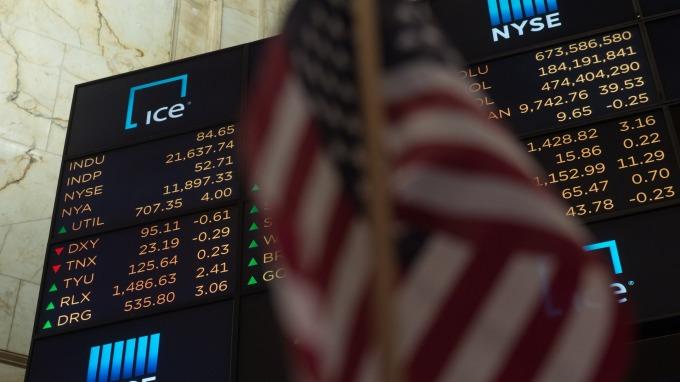 近期美股表現亮眼。(圖:AFP)