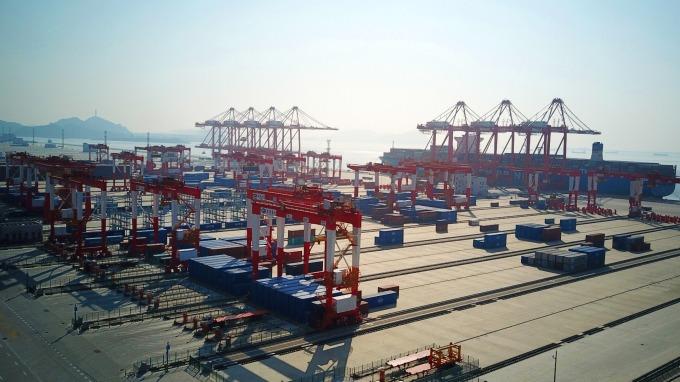 中國進出口全年成長(圖:AFP)