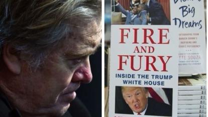 爆料白宮秘聞的《烈焰與怒火》熱銷。(圖:AFP)