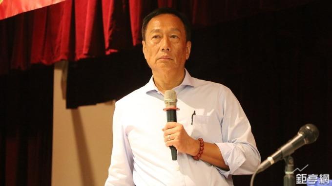 鴻海董事長郭台銘。(圖:鉅亨網資料照)