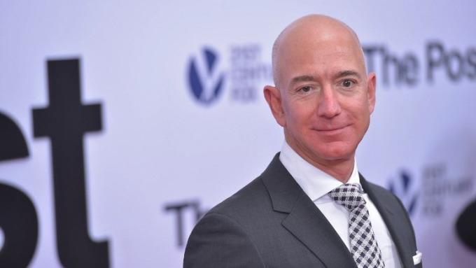 亞馬遜執行長 Jeff Bezos。 (圖:AFP)