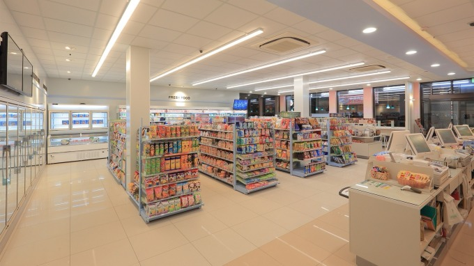 7-ELEVEN 2018年最新店型「未來形象店」。(圖:統一超提供)