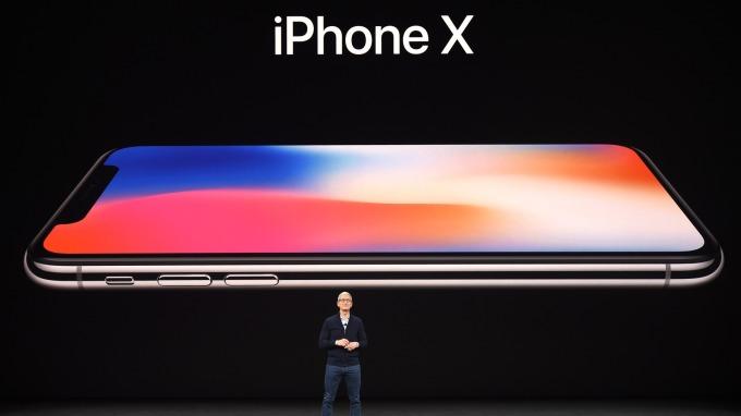 iPhoneX。(圖:AFP)