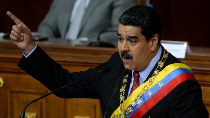 委內瑞拉總統尼古拉斯·馬杜洛。(圖:AFP)
