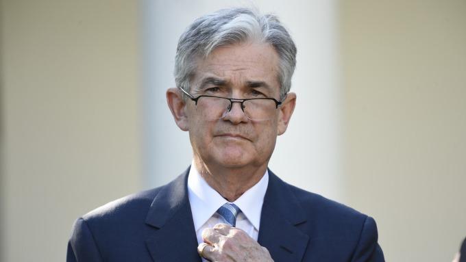 美國準聯準會主席鮑威爾。(圖:AFP)