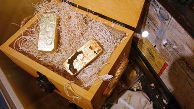 「黃金之船」4000萬美黃金將全部出售 一小枚硬幣售價100萬美元