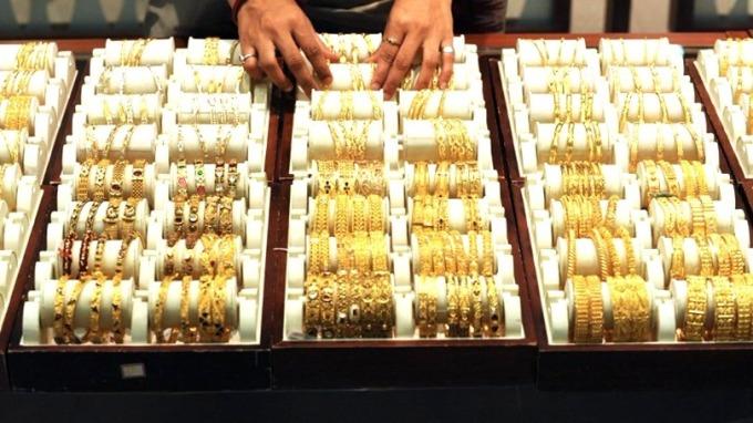 黃金是市場波動性上升時的避風港。 (圖:AFP)
