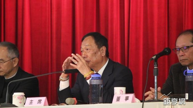〈鴻海股臨會〉郭台銘估 今年是5G標準制定元年 2020-2022市場爆發