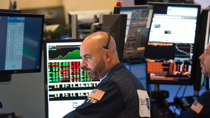 圖:AFP  美國股市週三收高 但大幅縮小漲幅
