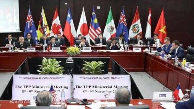 CPTPP談判。 (圖:百度、FX168財經網)