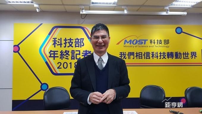 科技部長陳良基強調去年說到做到今年深化改變激勵合作往前進。(鉅亨網記者楊伶雯攝)