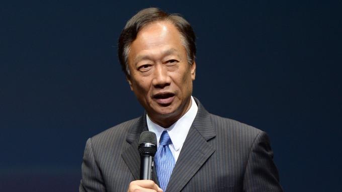 鴻海集團董事長郭台銘。(圖:AFP)