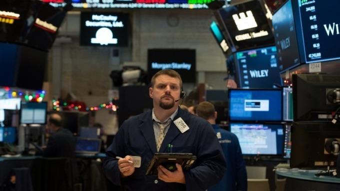 紐約證交所交易員(圖:AFP)