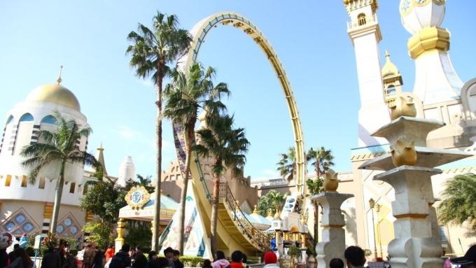 六福村是國內知名遊樂園之一。(圖/取自六福村吉祥物哈比粉絲專頁)