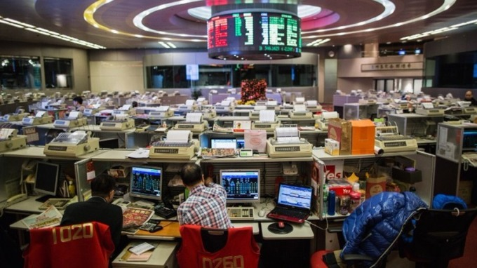 港股做空率升至15.6%,為17個月新高。 (圖:AFP)