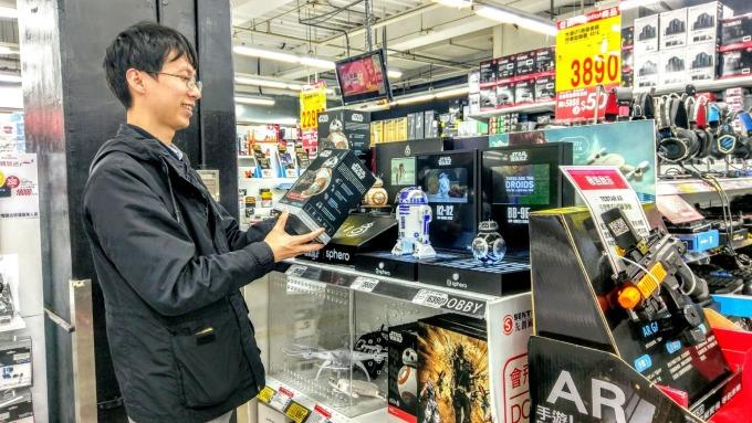 農曆年前夕電玩與遊戲類商品成為銷售大熱門。(圖:大潤發提供)
